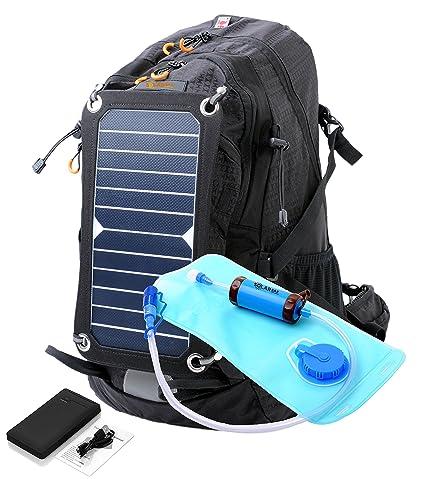 Amazon.com: SolarSak - Mochila de hidratación solar con ...