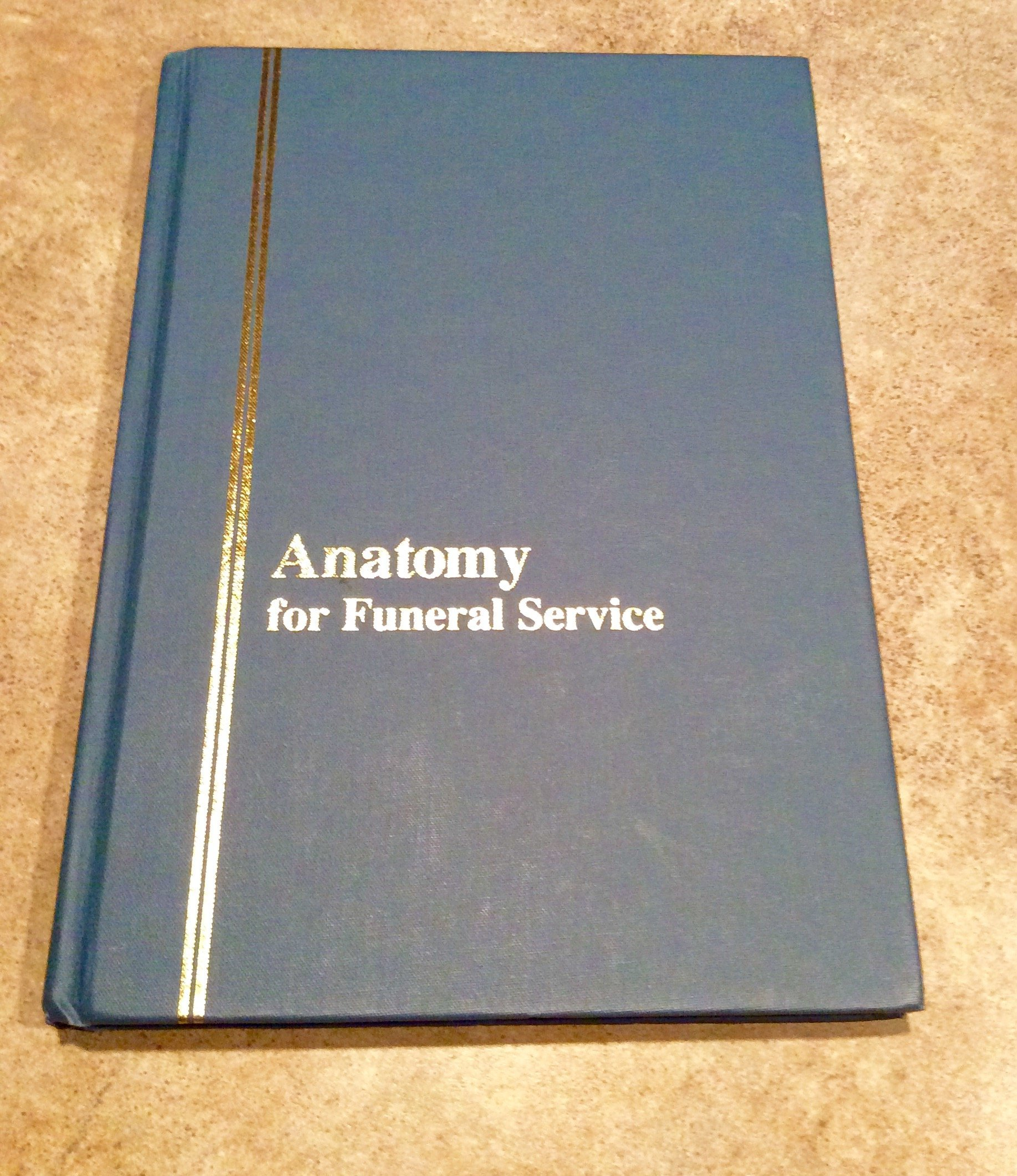 Anatomy for Funeral Service: Professional Training Schools: Amazon ...