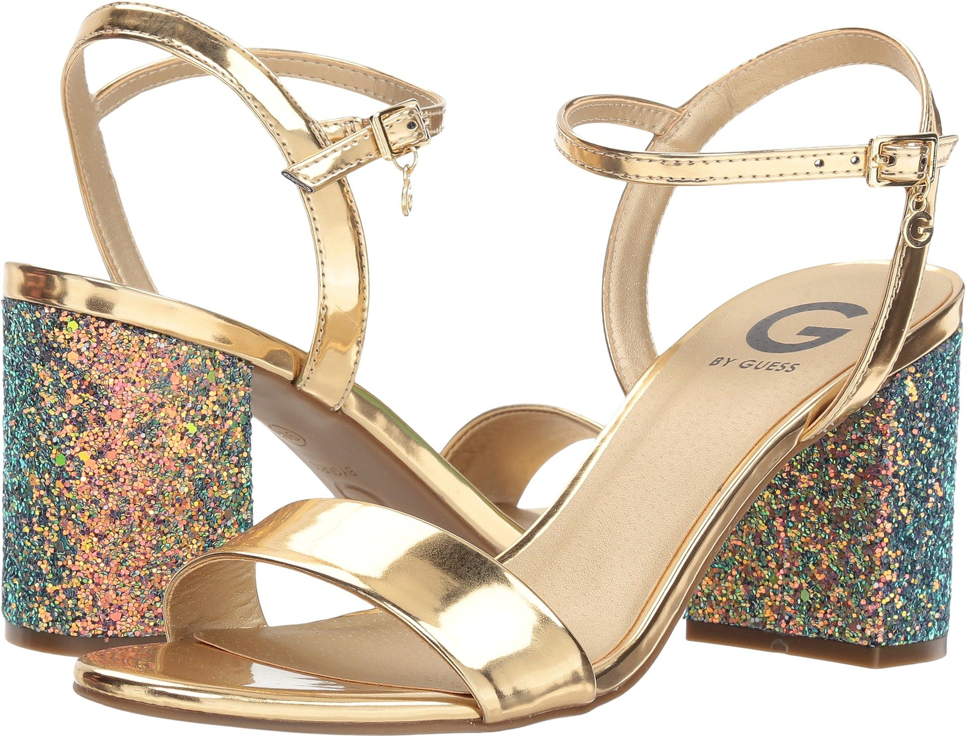 G by GUESS Women's Destin Golden Mermaid 6 M US