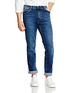 Mens Tramper Tapered Fit Jeans Mustang