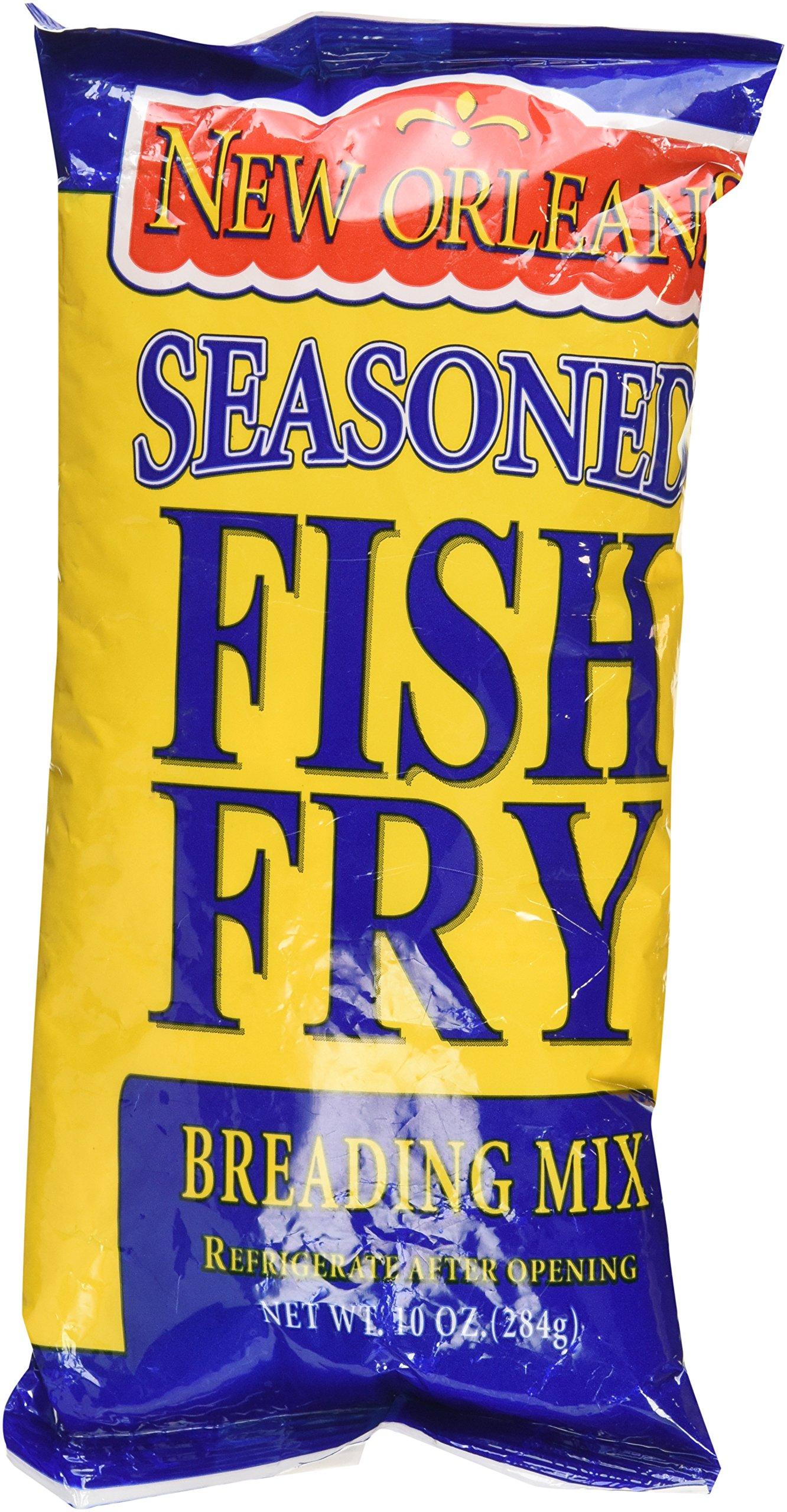 Zatarain's New Orleans Seasoned Fish Fry Breading Mix, 10 Ounces (Pack of 2)