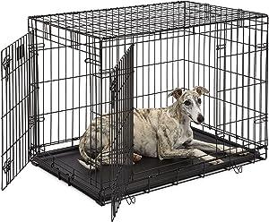 Life Stages LS-1636DD Double Door Dog Crate for Weimaraner