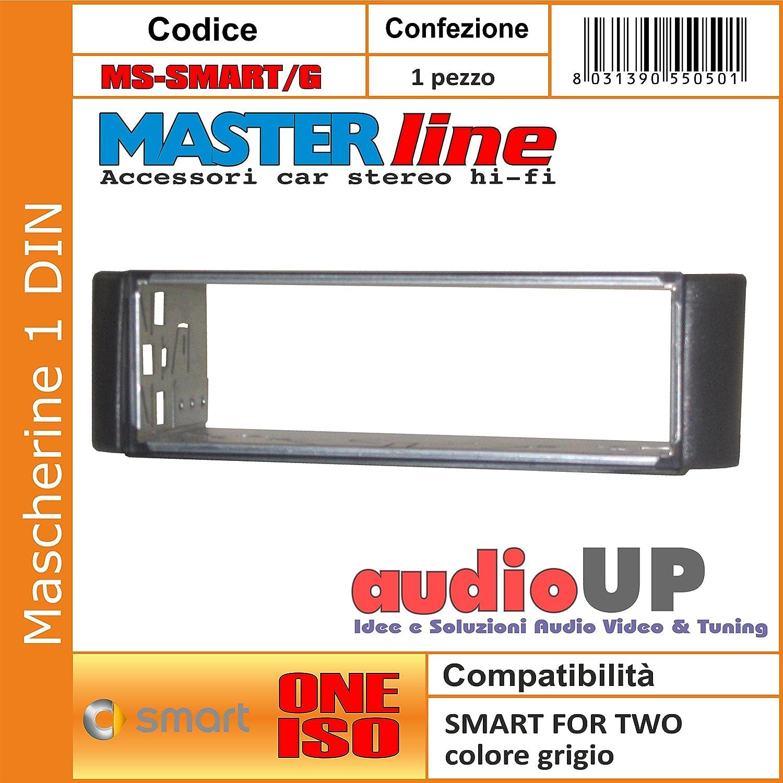 Mascherina autoradio 1 din SMART For Two fino al 2007