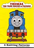 """Children's and Adult's Thomas The Tank Engine & Friends Motif Sweater 4 Knitting Pattern: To fit chest 22"""", 24"""", 26"""", 28"""", 30""""-32"""", 34""""-36"""", 38""""-40"""""""