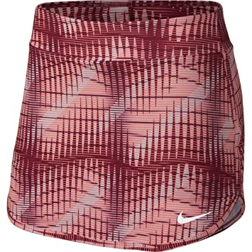 Nike Womens Printed Pure Tennis Skirt: Amazon.es: Deportes y aire ...