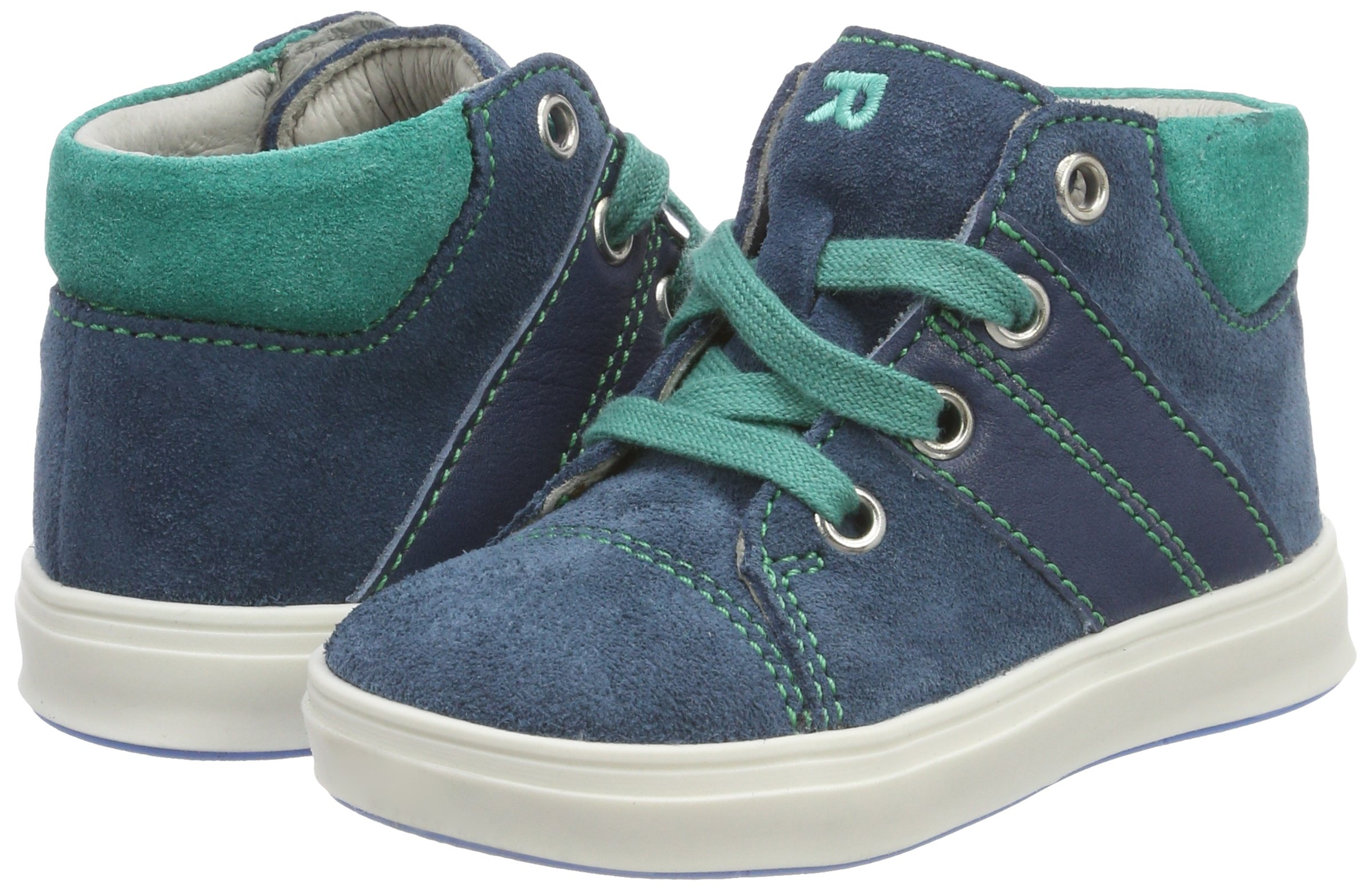 Richter Kinderschuhe Boys' Jimmy Derbys, Blue (Pacific/Menta 6701), 7.5 UK by Richter Kinderschuhe (Image #5)