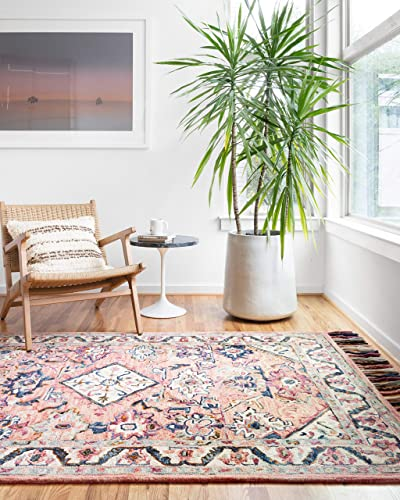 Loloi II Elka Collection Colorful Floral Area Rug