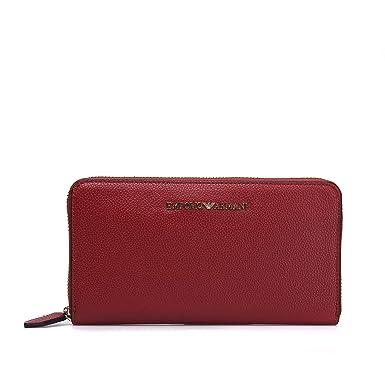 Emporio Armani cartera Wallet Around y3h114 yh65 a Ruby Red X 10 4c5591cdaf9f