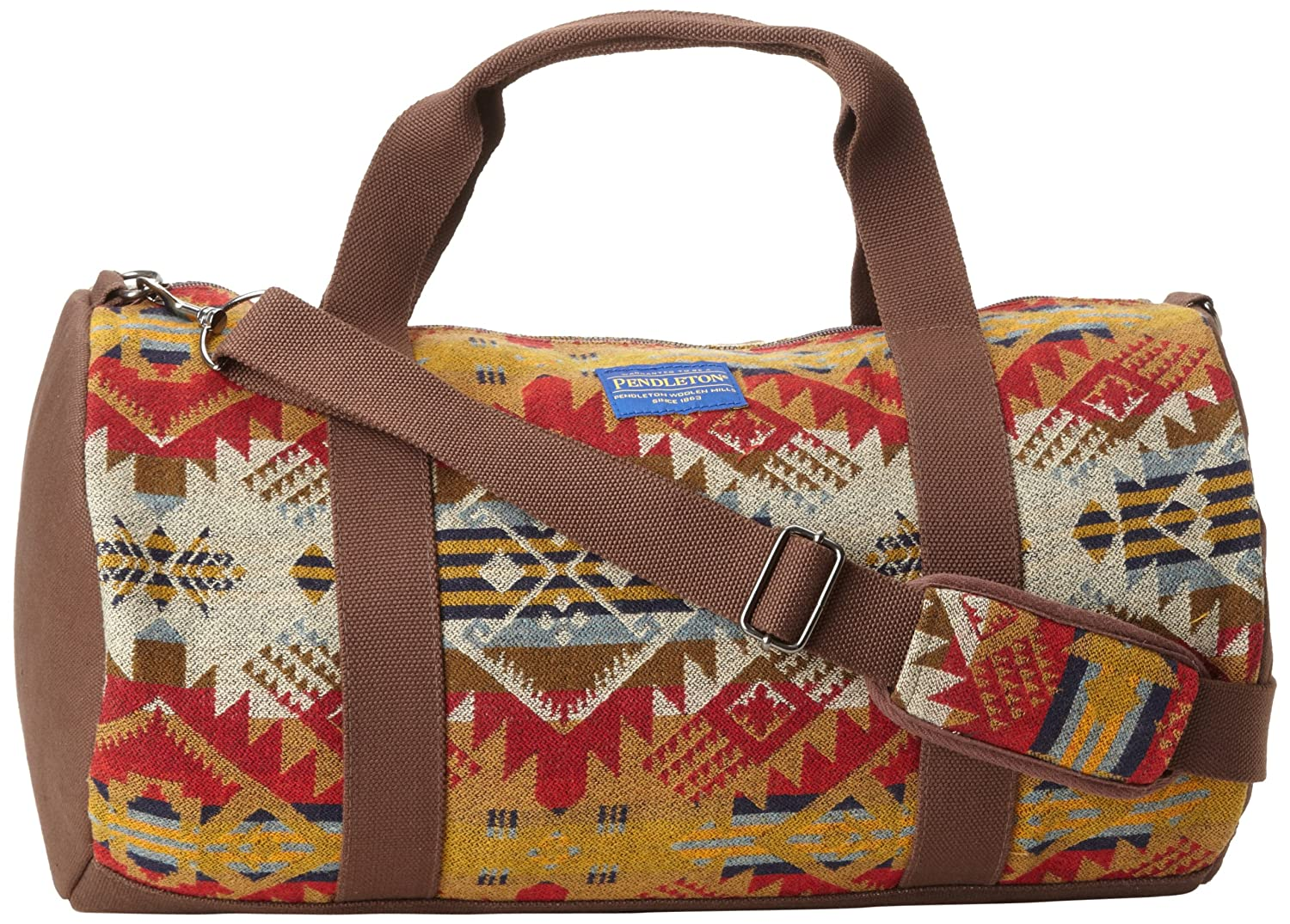 Pendleton Woolen Mills Journey West Duffle Bag - Tan Mini Journey West   Amazon.co.uk  Clothing e8f1e9b8e3b20