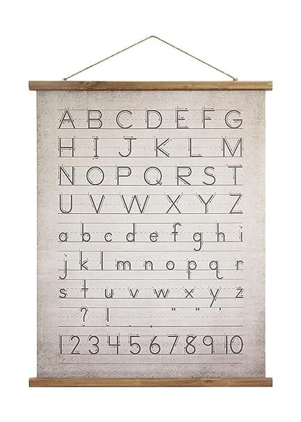 Alphabet & Language Trend Mark Alphabet And Numbers