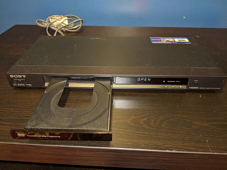amazon com sony dvp ns72hp single disc upscaling dvd player black rh amazon com Sony DVD Player Sony DVD Player DVP-FX780