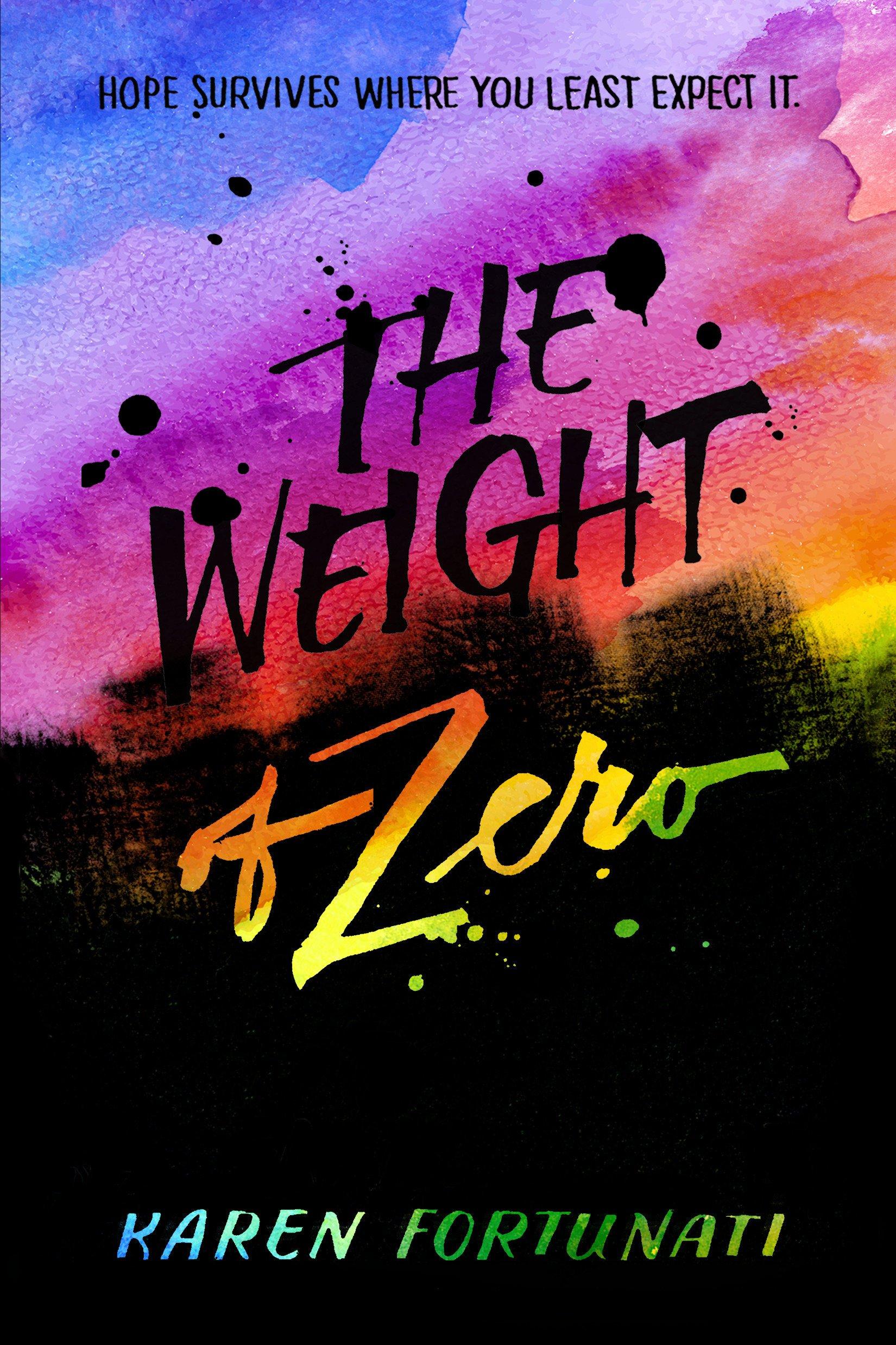Read Online The Weight of Zero pdf