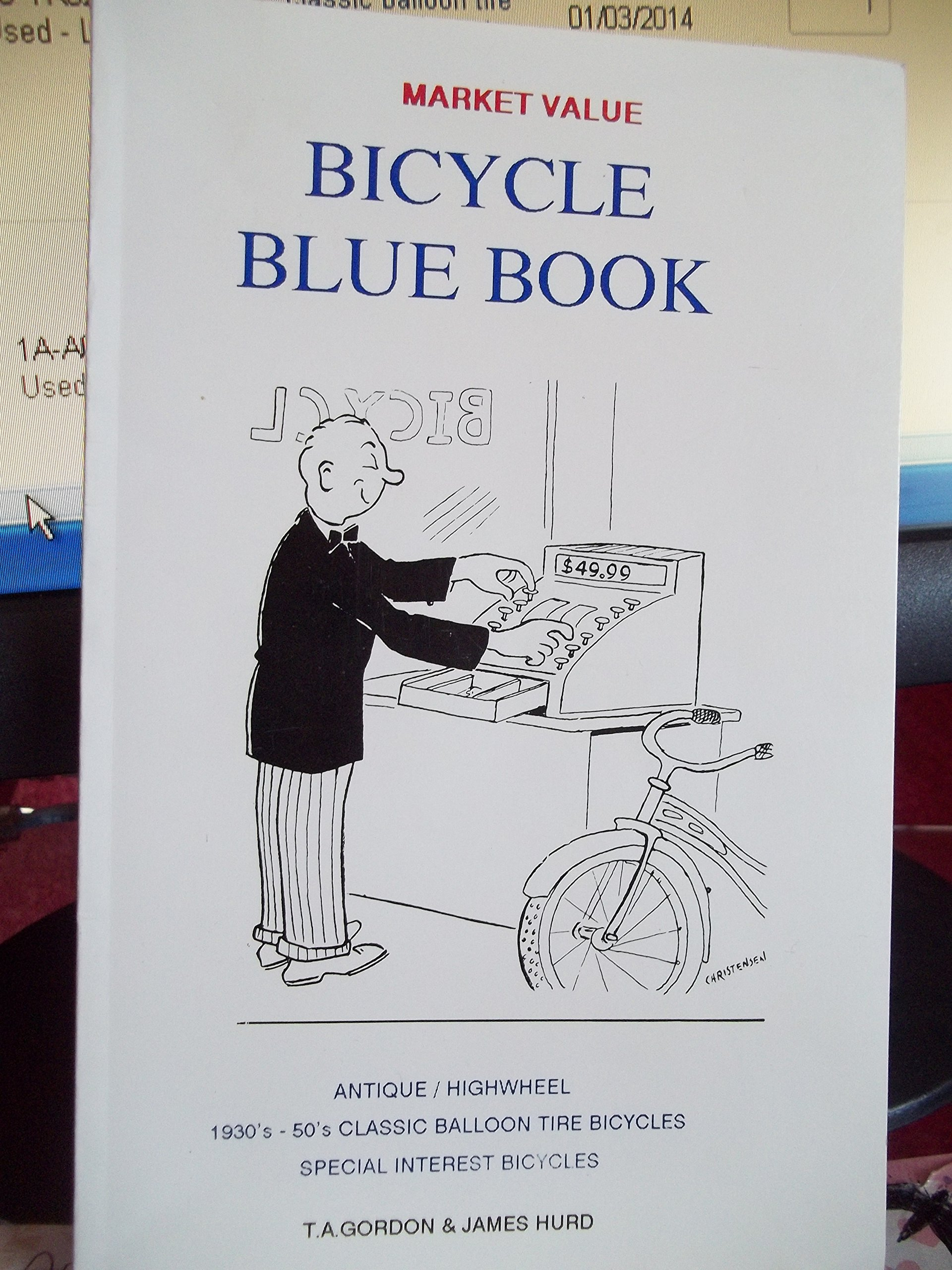 Bicycle Blue Book Value >> Bicycle Blue Book Market Value Antique Highwheel 1930 S