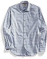Goodthreads Men's Slim-Fit Long-Sleeve Large-Scale Gingham Shirt
