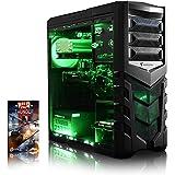 VIBOX Gaming PC - Gamer 2 - 4.2GHz Intel i5 Quad Core CPU, GTX 1050 GPU, Advanced, Desktop Computer with Game Bundle, Green Internal Lighting and Lifetime Warranty* (Intel i5 7600K Kabylake 4-Core CPU Processor, Nvidia GeForce GTX 1050 2GB Graphics Card GPU, 8GB DDR4 2133MHz High Speed RAM Memory, 1TB (1000GB) Seagate SSHD Solid State Hybrid SSD-Hard Drive, Raijintek Aidos Air CPU Cooler, 85+ Rated PSU, Vanquish Green Case, B250 Motherboard, No Operating System Installed)