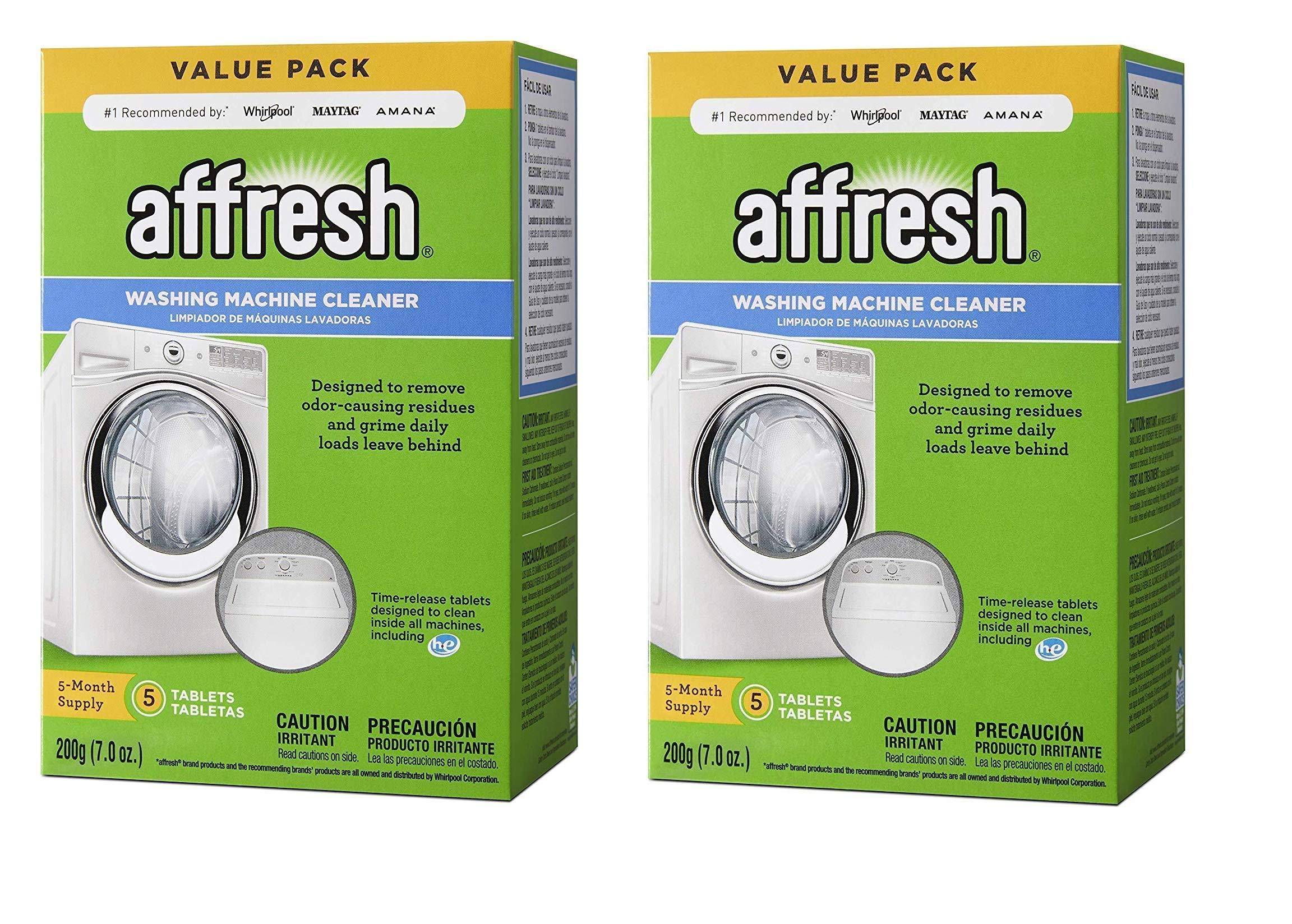 Affresh W10549846 Washer Cleaner 2 Pack