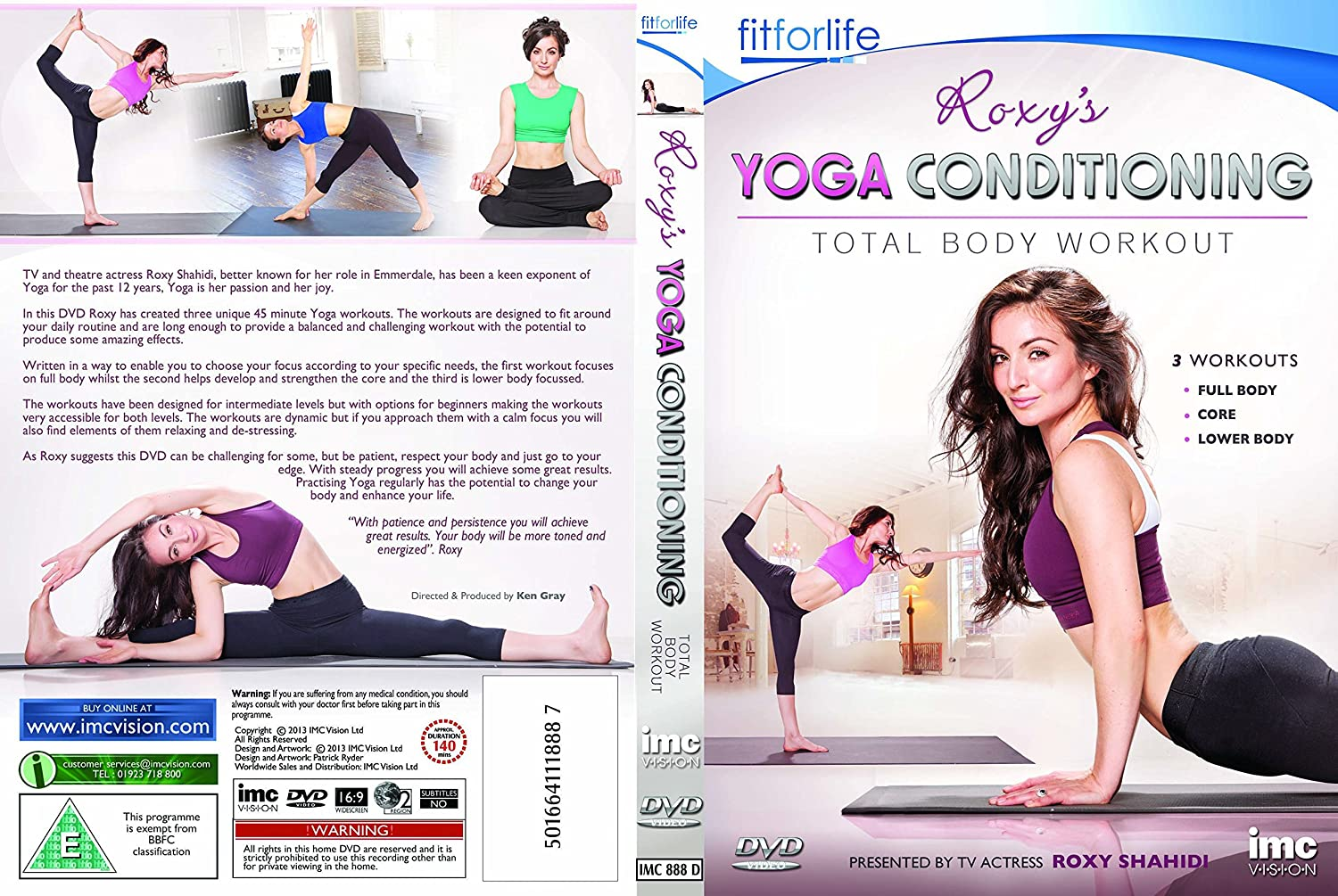 Amazon.com: Roxys Yoga Workouts (Leyla from Emmerdale ITV1 ...