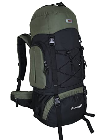 Amazon.com : HBAG Discovery 80L 5400ci Internal Frame Camping ...
