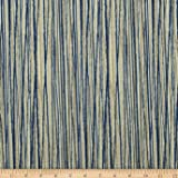 Magnolia Home Fashions Laurel Bay Stripe Cove Blue Fabric By The Yard