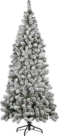 Albero Di Natale Kenia.Albero Di Natale Kenya Floccato 180cm 500rami Amazon It Casa E Cucina