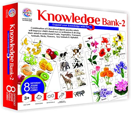 Ratnas Knowledge Bank Series of Jigsaw Puzzle (2)