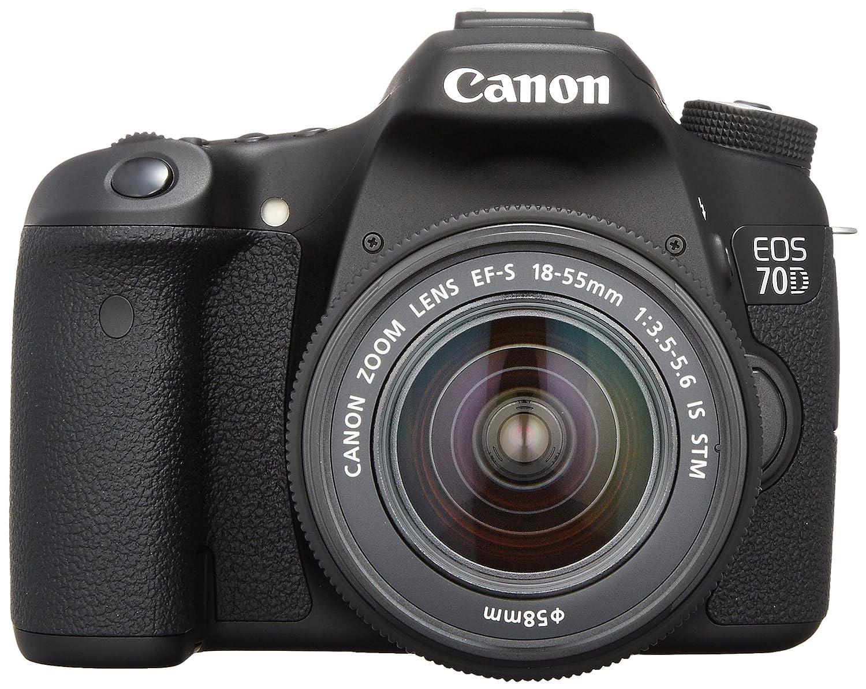 【送料無料/即納】  Canon デジタル一眼レフカメラ EOS70D EF-S18-55mm レンズキット EF-S18-55mm 通常品 STM F3.5-5.6 IS STM 付属 EOS70D1855ISSTMLK B00DQIC2TA 通常品, 染料食用色素のカラーマーケット:2d00d529 --- arianechie.dominiotemporario.com