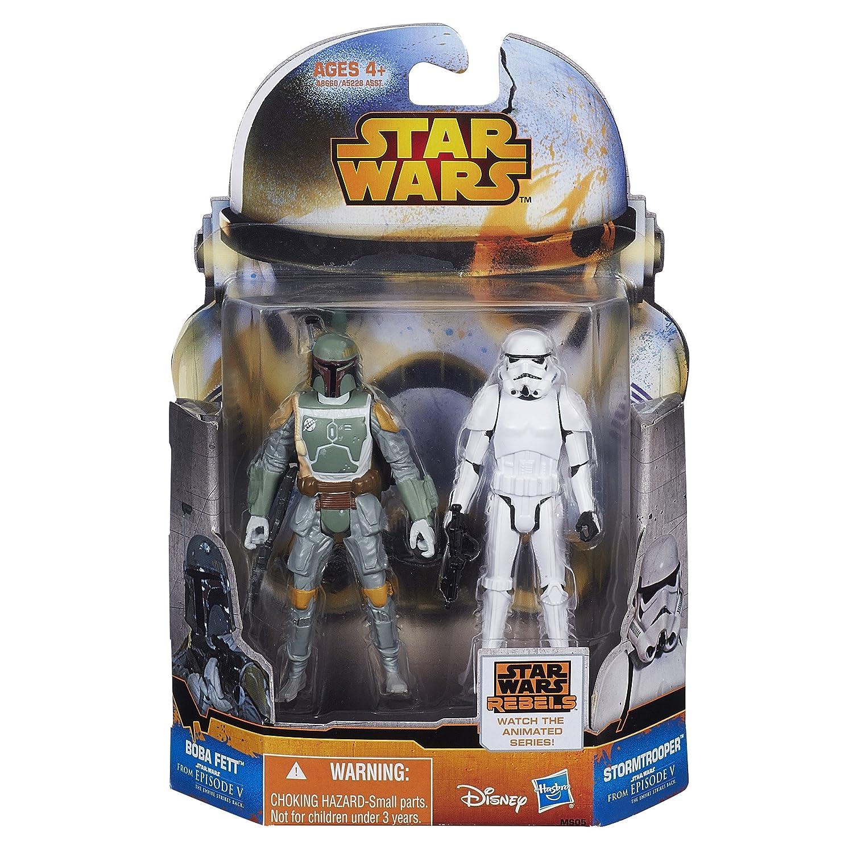 Star Wars Mission Series Figure Set Boba Fett and Stormtrooper