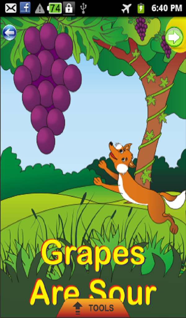 Amazon.com: Grapes are Sour - Kids Story: Appstore for Android