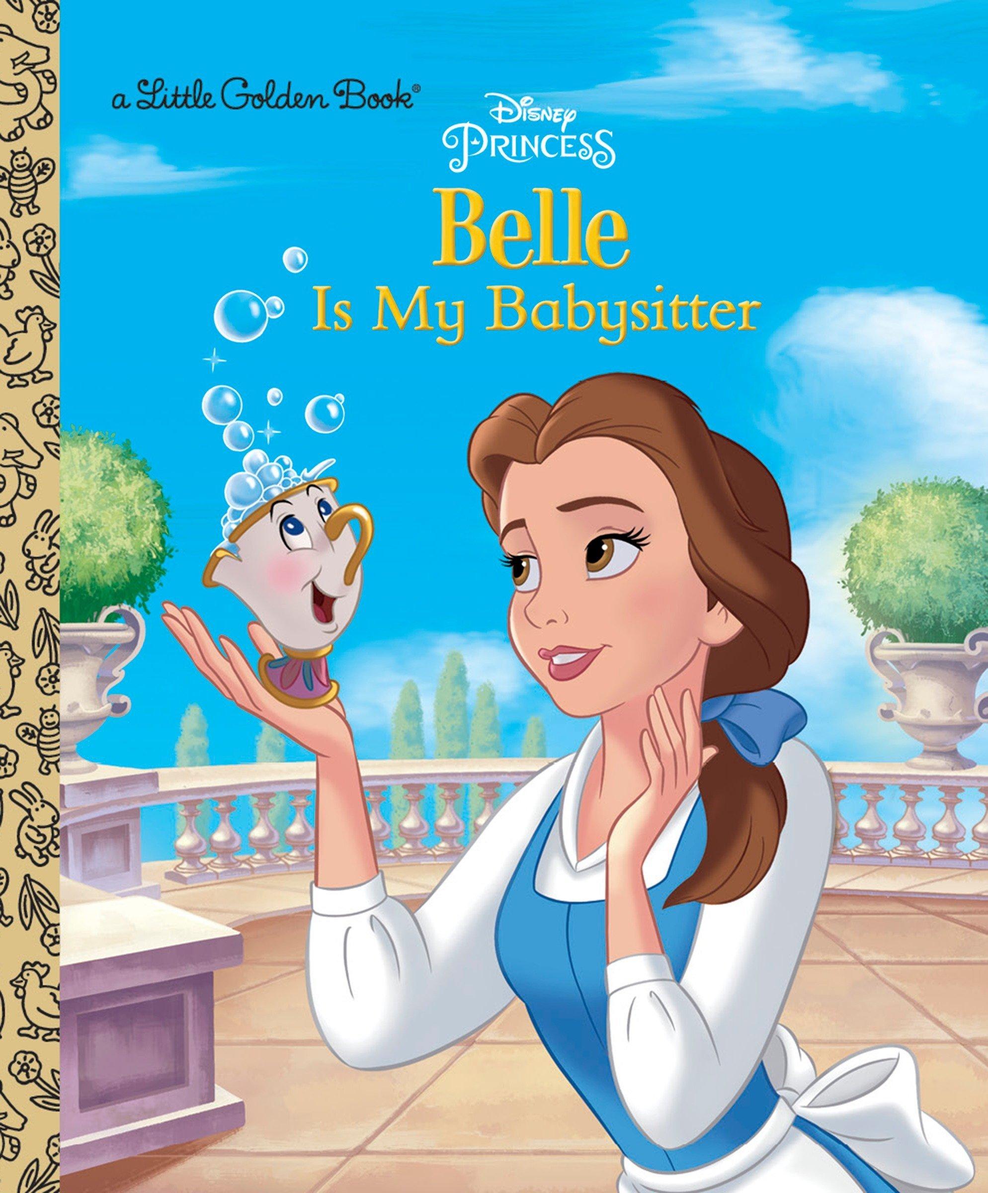 Belle is My Babysitter (Disney Princess) (Little Golden Book) pdf epub