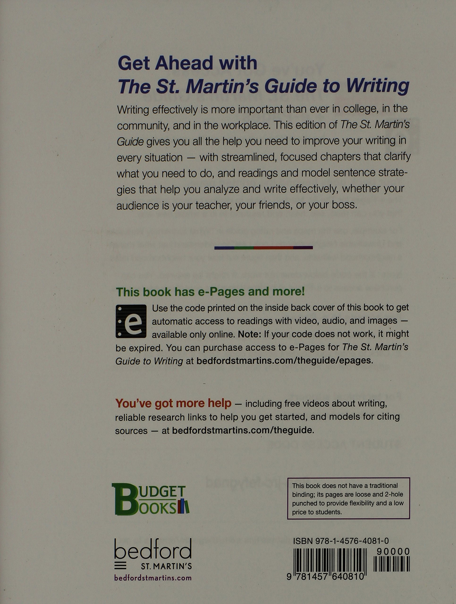 Buy the st martins guide to writing budget books book online buy the st martins guide to writing budget books book online at low prices in india the st martins guide to writing budget books reviews ratings fandeluxe