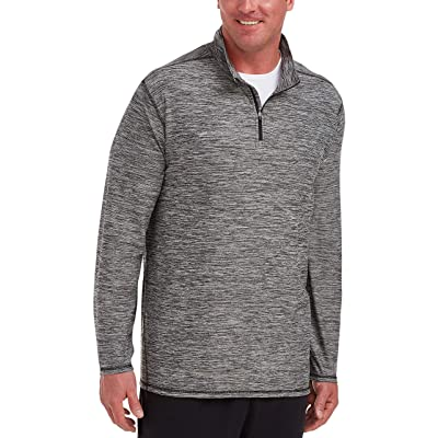 Essentials Men's Tech Stretch Quarter-Zip fit by DXL: Clothing