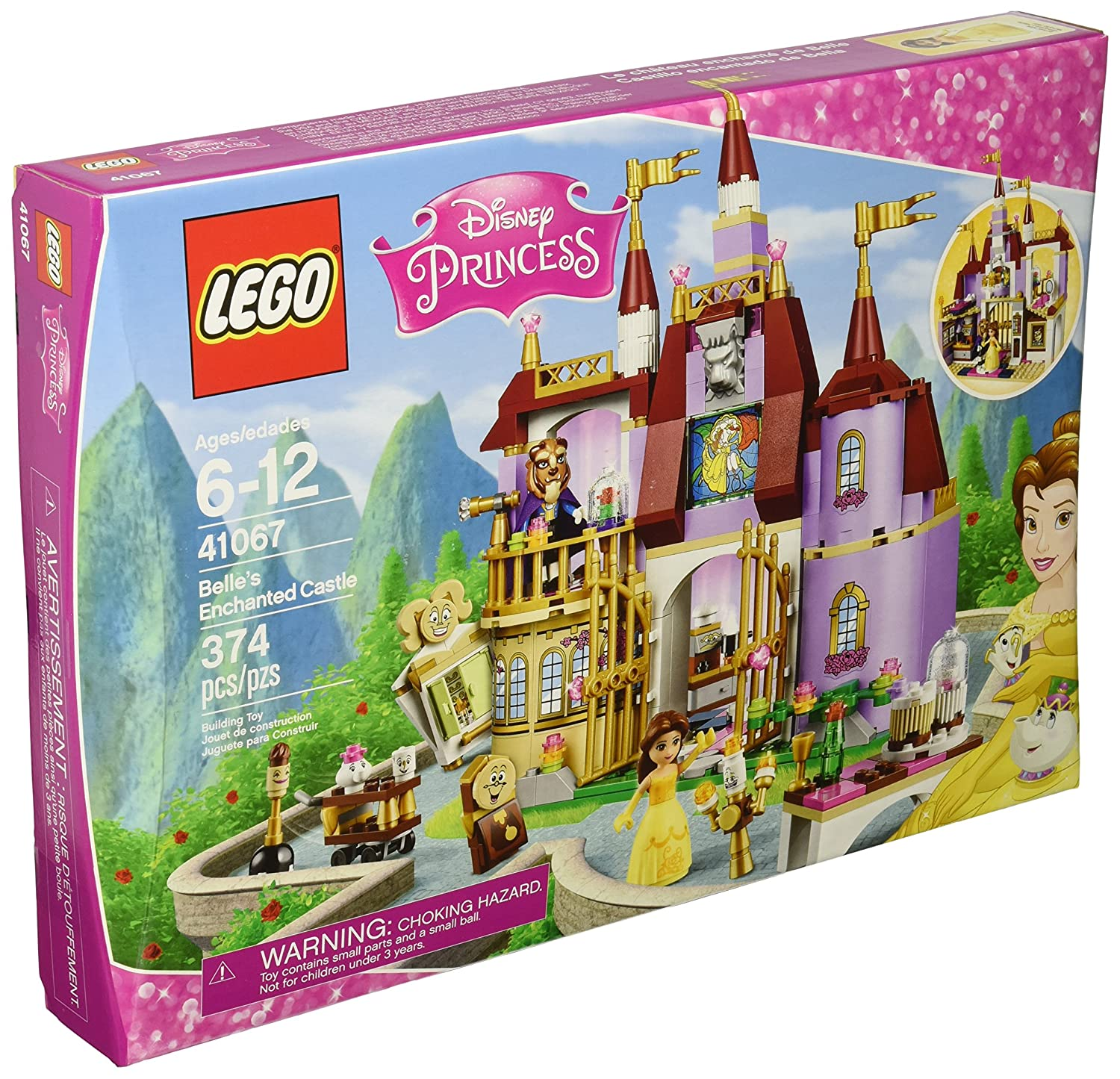 LEGO Disney Princess Belle's Enchanted Castle (41067) Speed Build Video