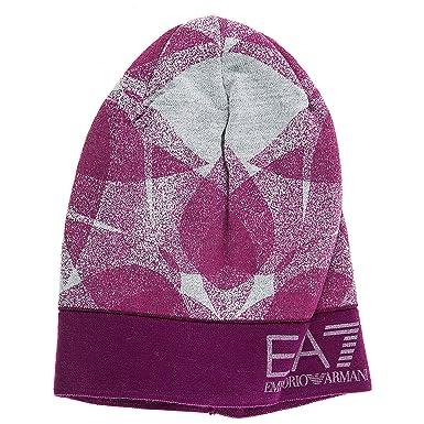 Emporio Armani EA7 bonnet femme train graphic fuxia EU S 285440 7A393 00194 777ad7fe3f1