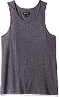 9395a898061cb Amazon.com  Brixton Men s Wheeler Tank Top  Clothing