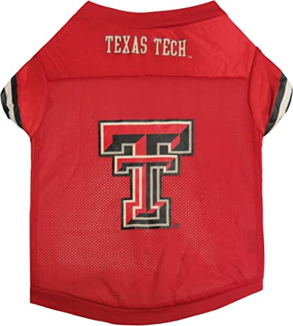 Sporty K-9 NCAA Texas Tech Red Raiders Football Dog Jersey