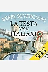 La testa degli italiani Audible Audiobook