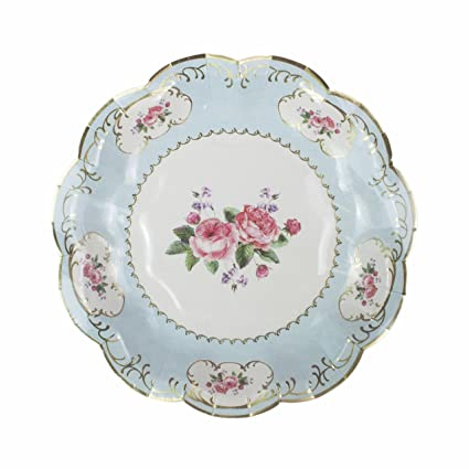Talking Tables Truly Chintz Paper Plates 18cm (12 pack in 4 designs)  sc 1 st  Amazon.com & Amazon.com: Talking Tables Truly Chintz Paper Plates 18cm (12 pack ...