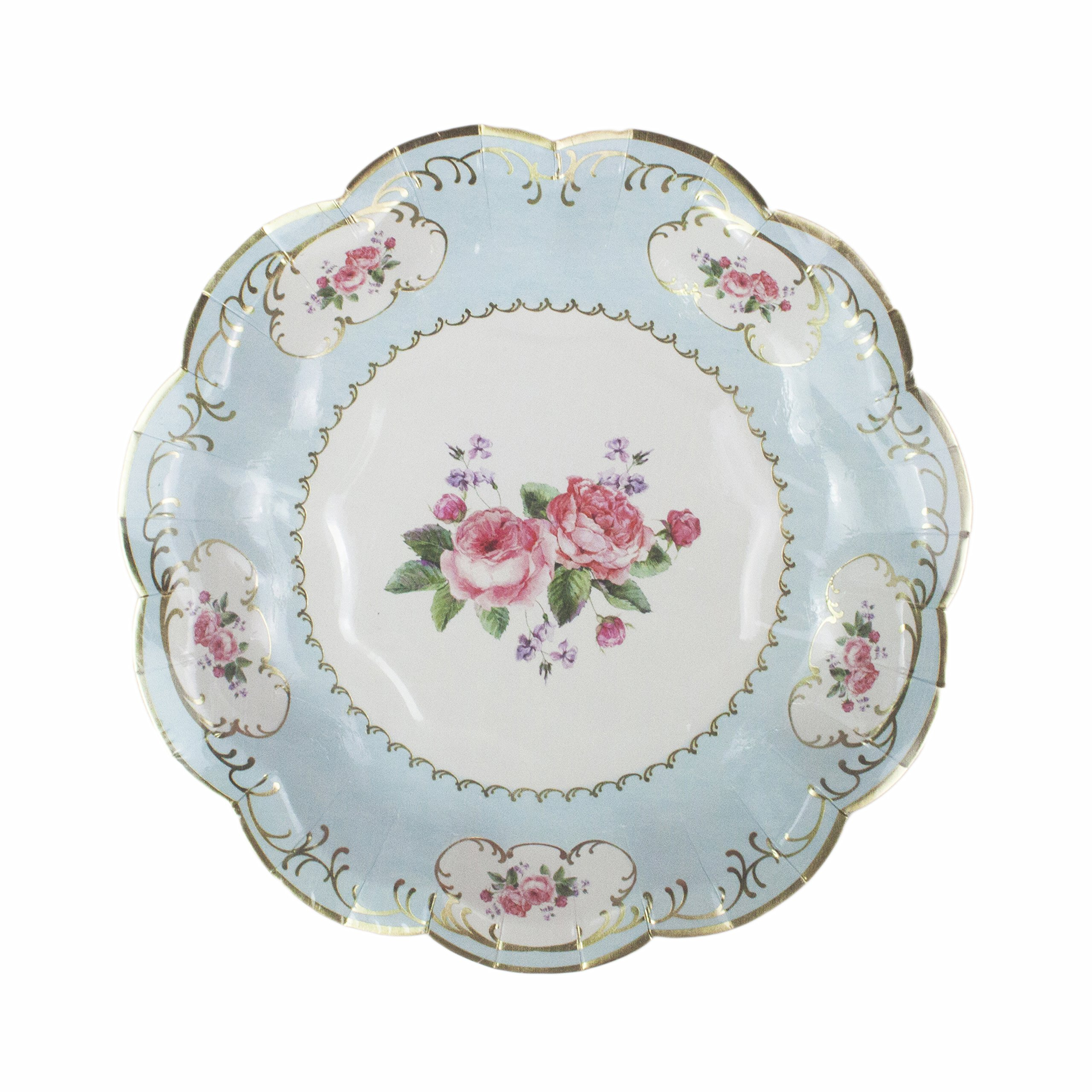Talking Tables Truly Chintz, Paper Plates, 18cm (12 pack in 4 designs) by Talking Tables