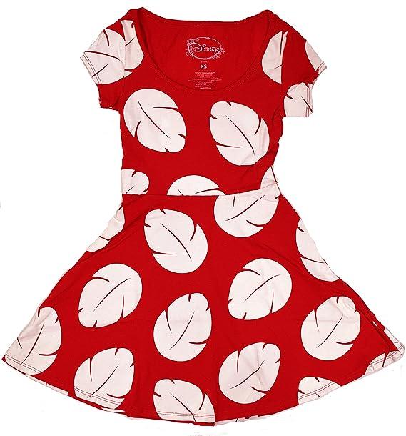 Vestido Cosplay Lilo & Stitch Lilo (Medio, Rojo / Blanco ...