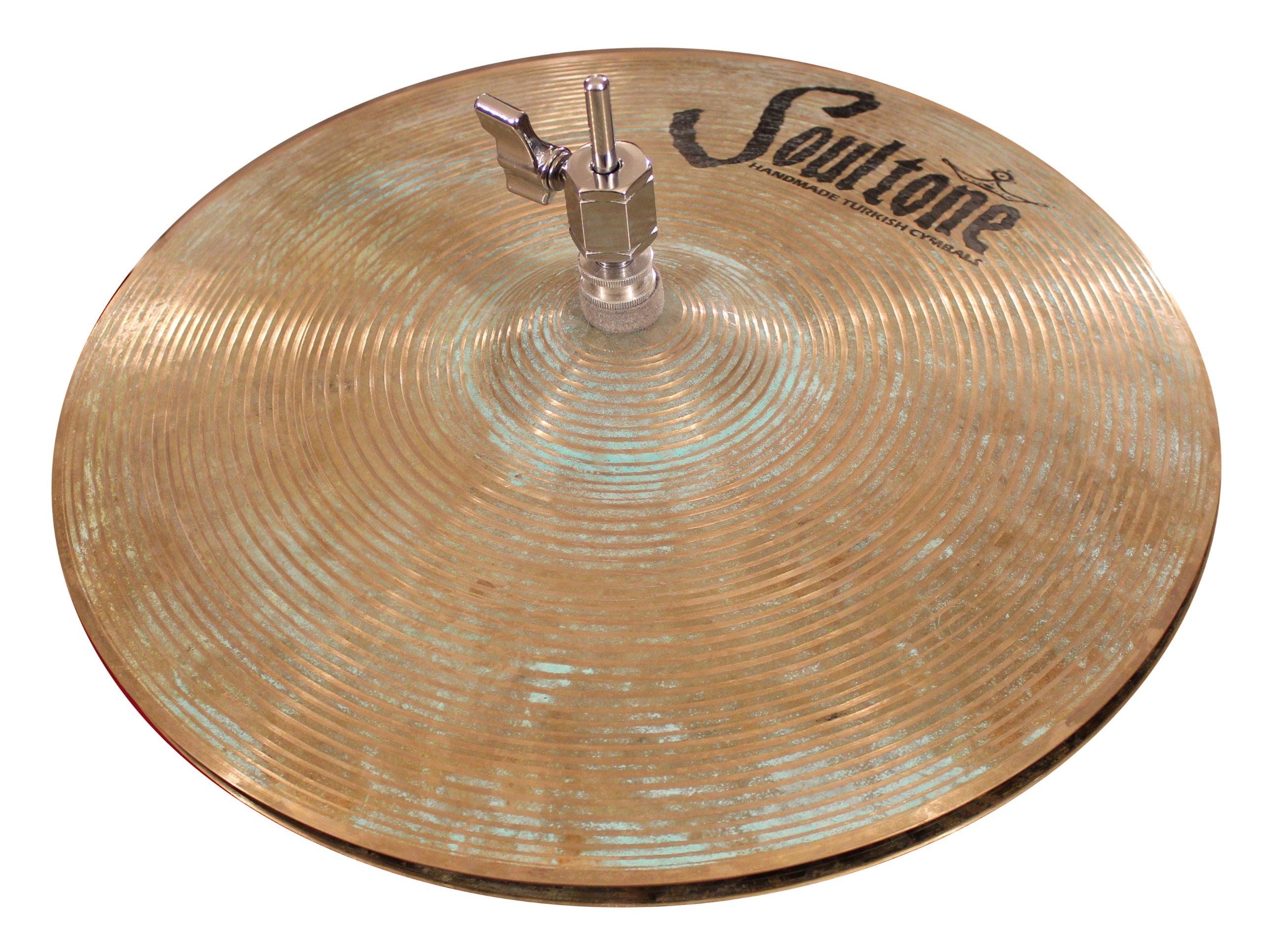 Soultone Cymbals VOSP-HHT15-15'' Vintage Old School Patina Hi Hats Pair by Soultone Cymbals