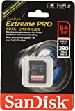 Sandisk Extreme Pro - Flash Memory Card - 64 GB - SDXC UHS-II (SDSDXPB-064G-A46)