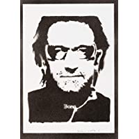 Poster Bono U2 Grafiti Hecho a Mano - Handmade Street Art - Artwork