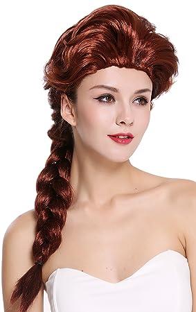 WIG ME UP ® - 051-P30 Peluca señora Mujer Carnaval Cosplay Barroco Cosplay Larga