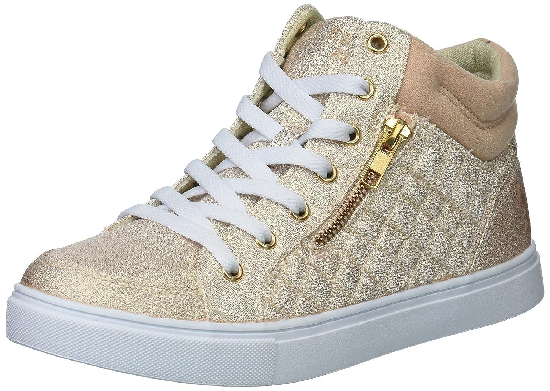 U.S. Polo Assn. Women's Isabella Sneaker B075SRP5CG 6 B(M) US|Rose Gold Glitter
