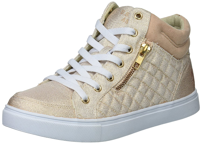 U.S. Polo Assn. Women's Isabella Sneaker B075SRZKJ2 8 B(M) US|Rose Gold Glitter