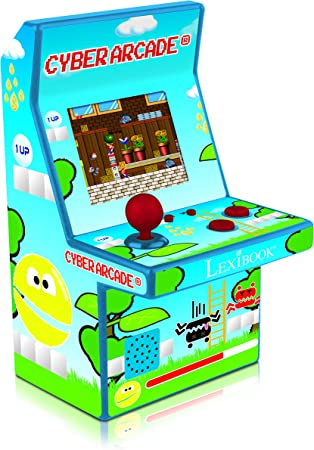 Amazon.es: LEXIBOOK JL2951 Vídeoconsola portátil con 240 Juegos incluidos, diseño Retro