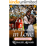 An Education in Love: Historical Western Romance (Wedding Bells for the Widows Book 3)