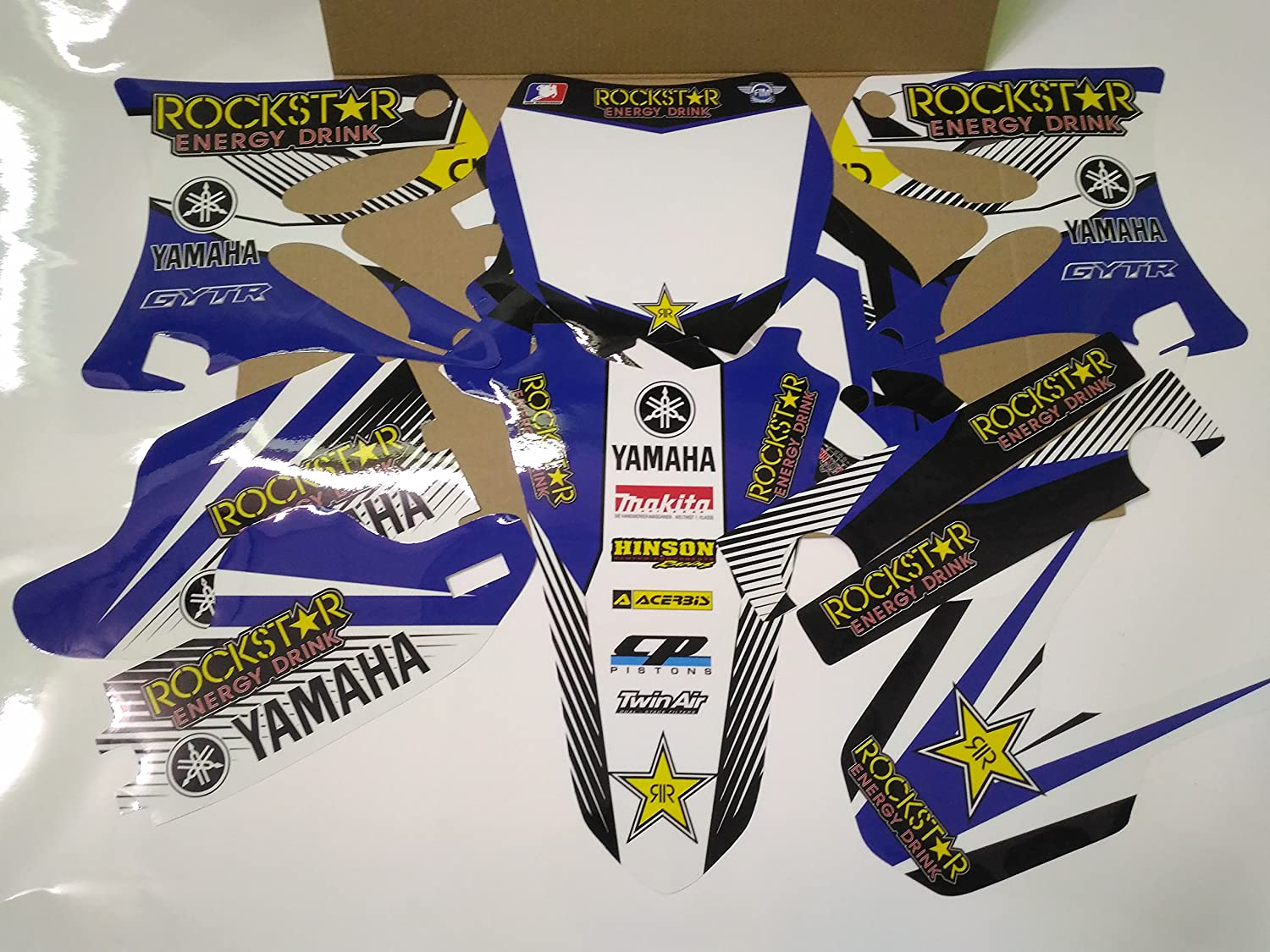 N 211 YAMAHA YZ125 YZ250 2002-2013 02-13 DECALS STICKERS GRAPHICS KIT