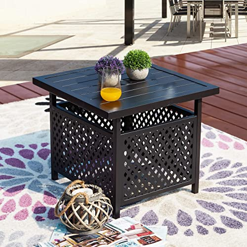 LOKATSE HOME Patio Umbrella Table Stand