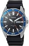 Casio Men's ' Sports Quartz Resin Casual Watch, Color:Black (Model: MTD-120-1AVCF